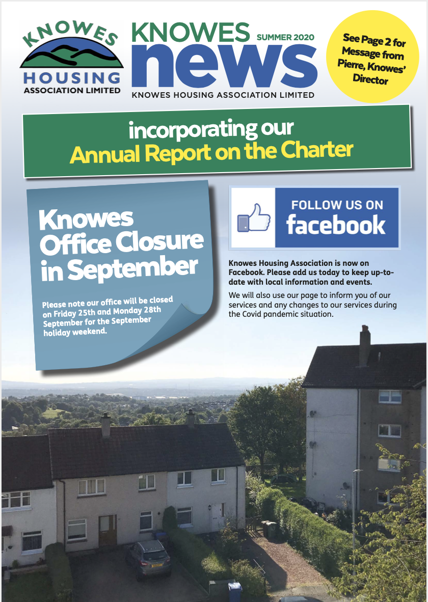 knowes newsletter august 2020